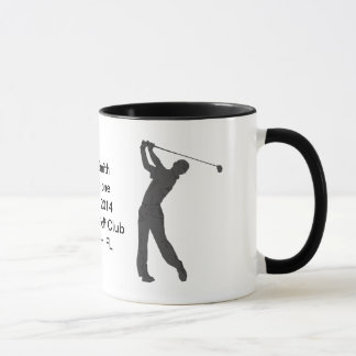 Hole-in-One Commemoration Mug Customizable