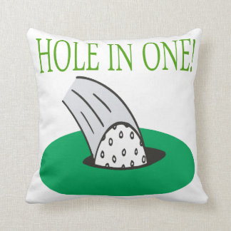 Hole In One Cushion