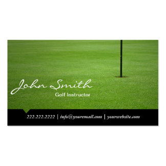 Hole in One Golf Instructor Business Card