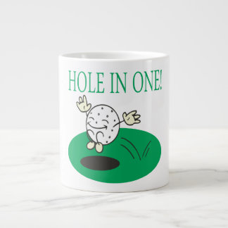 Hole In One Large Coffee Mug