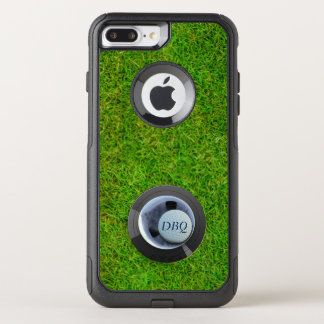 Hole in One OtterBox Golf Ball Monogram Golfing OtterBox Commuter iPhone 8 Plus/7 Plus Case