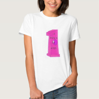 Hole in One - pink T-shirt