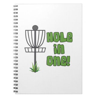 Hole In One Spiral Notebook