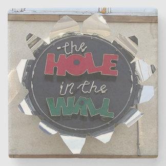 Hole In The Wall, Buckhead Atlanta Marble Coaster
