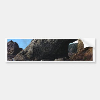 Hole-in-The-Wall Olympic National Park Bumper Sticker