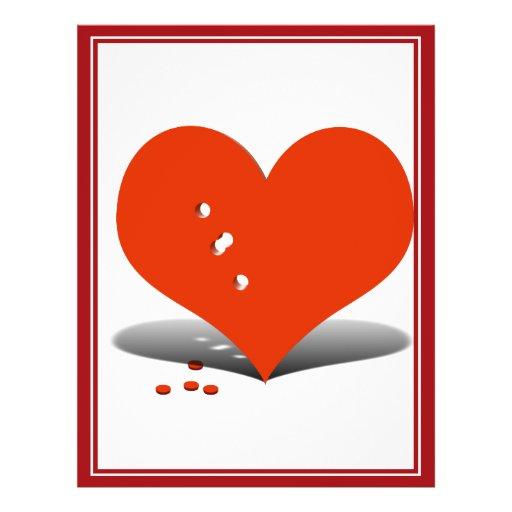 Holes in My Heart Flyer Design