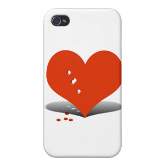 Holes in My Heart Covers For iPhone 4