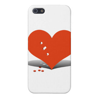 Holes in My Heart iPhone 5 Case