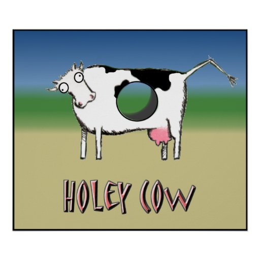 Holey Cow Poster