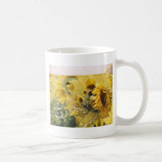 holga sunflowers: retro dreamy vibe mugs