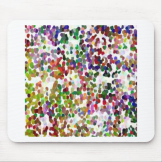 HOLI - Festival of Colors - Elegant MultiColor Dot Mouse Pad