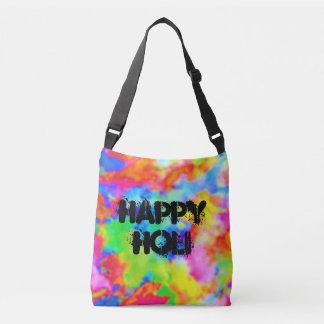 HOLI Festival of Colors - splashes I + your ideas Crossbody Bag