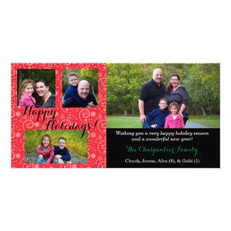 "Holiday 8"" x 4"" Photocard Customised Photo Card"