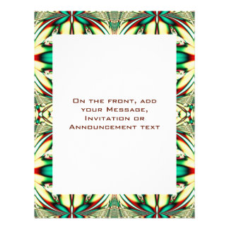 Holiday Abstract Personalized Flyer