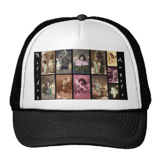 Holiday Angels Hat Customizable