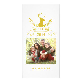 Holiday Antlers | Holiday Photo Card