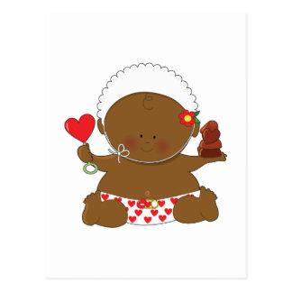 Holiday Baby Postcard