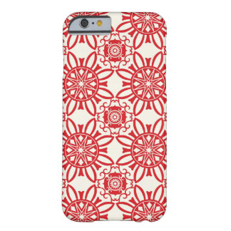 Holiday Backdrop Pattern Barely There iPhone 6 Case
