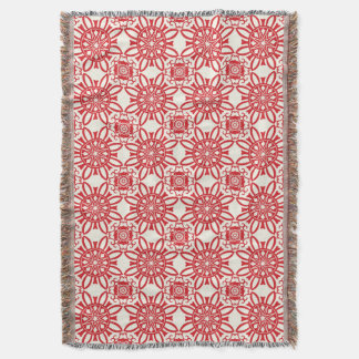 Holiday Backdrop Pattern Throw Blanket