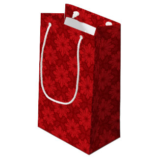 Holiday Background Small Gift Bag