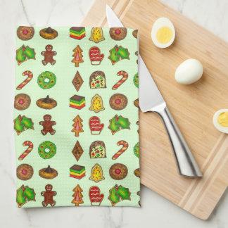 Holiday Baking Christmas Cookie Cookies Xmas Towel