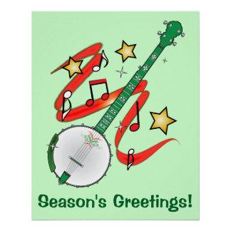 Holiday Banjo Season's Greetings
