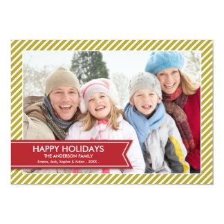 HOLIDAY BANNER | HOLIDAY PHOTO CARD