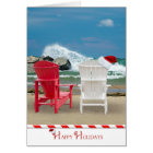 Holiday Beach Chairs Card