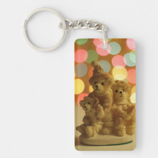 Holiday Bears Key Ring