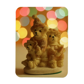 Holiday Bears Magnet