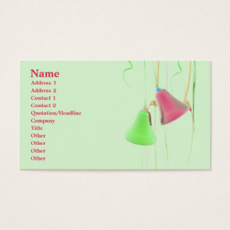 Holiday Bells - Business Business Card