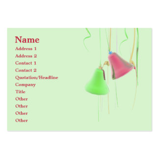 Holiday Bells - Chubby Pack Of Chubby Business Cards