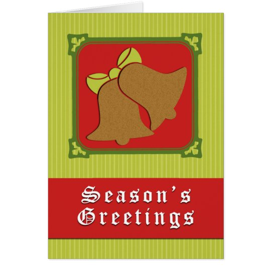 Holiday Bells - Greeting Card