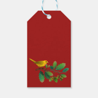 Holiday Bird Gift Tag