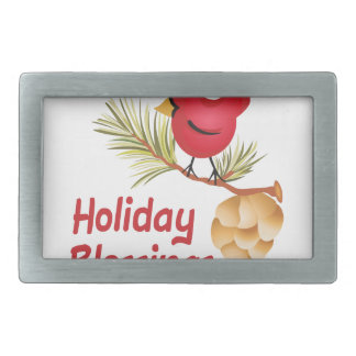HOLIDAY BLESSINGS BELT BUCKLES