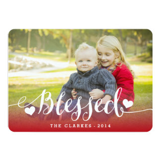 Holiday Blessings | Holiday Photo Card