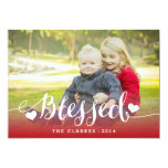 Holiday Blessings | Holiday Photo Card Invite