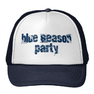 Holiday Blue Season Party Hat