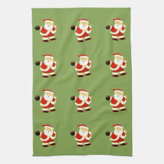 Holiday Bowl Tea Towel