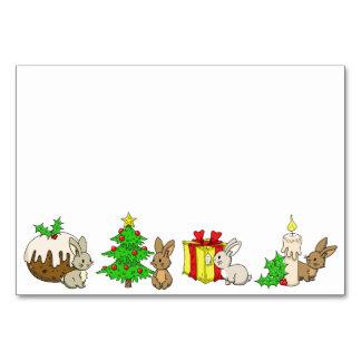 Holiday Bunnies Card