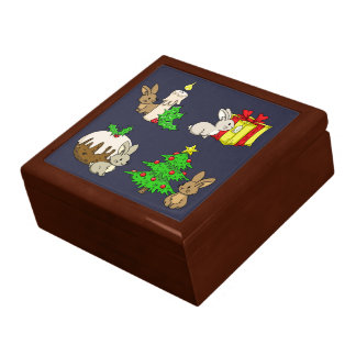 Holiday Bunnies Gift Box