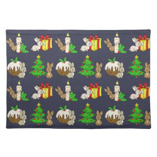 Holiday Bunnies Placemat