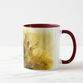 Holiday Candle and Greens Mug