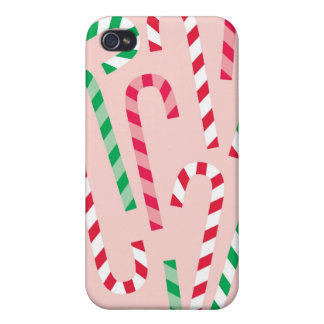 Holiday Candy Cane iPhone Case iPhone 4/4S Cases