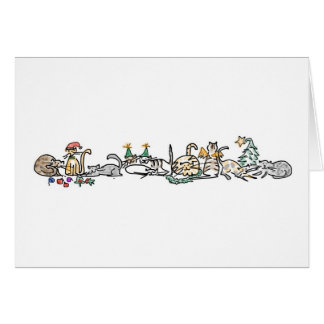 Holiday Card - Herd of Cats