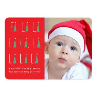 Holiday Carols Photo Card
