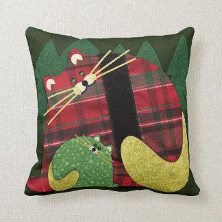 Holiday Cats Cushion