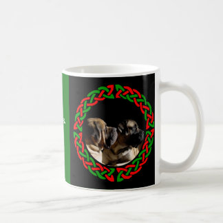 Holiday Celtic Mastiff Mug