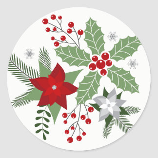 Holiday Charm Envelope Stickers