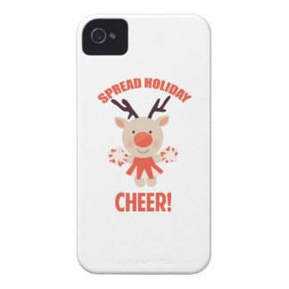 Holiday Cheer iPhone 4 Cover